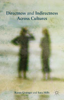 Directness and Indirectness Across Cultures Book
