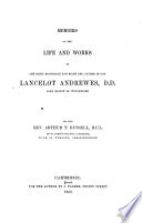 Memoirs of the Life and Works of Lancelot Andrewes, Lord Bishop of Winchester
