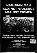 Namibian Men Against Violence Against Women