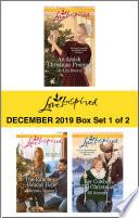 Harlequin Love Inspired December 2019 Box Set 1 Of 2