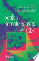 Scale In Remote Sensing And Gis Book PDF