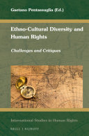 Ethno Cultural Diversity and Human Rights