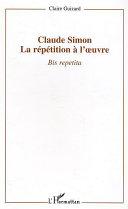 Pdf Claude Simon : la répétition à l'oeuvre Telecharger