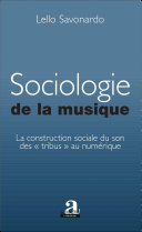Pdf Sociologie de la musique
