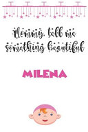 Letters to My Daughter   Milena   Writing Journal