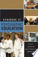 Handbook Of Psychiatric Education Book PDF