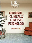 Abnormal Clinical And Forensic Psychology Book PDF