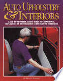 Auto Upholstery and Interiors Book