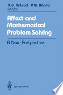Affect And Mathematical Problem Solving Book PDF