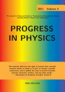 Progress in Physics, vol. 4/2011