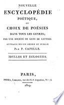 Nouvelle encyclopédie poétique