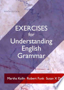 Exercises for Understanding English Grammar