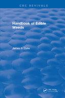 Handbook of Edible Weeds [Pdf/ePub] eBook