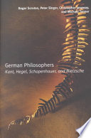 German Philosophers Book
