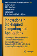 Innovations in Bio-Inspired Computing and Applications