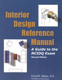 Interior Design Reference Manual Book