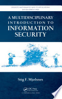 A Multidisciplinary Introduction to Information Security Book