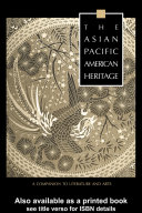 The Asian Pacific American Heritage Book