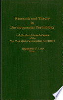 Research And Theory In Developmental Psychology
