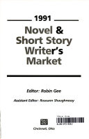 Novel And Short Story Writer S Market 1991