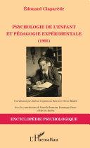 Pdf Psychologie de l'enfant et pédagogie expérimentale (1905) Telecharger