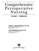 Comprehensive Perioperative Nursing: Principles