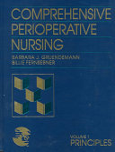 Comprehensive Perioperative Nursing  Principles