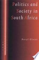 Politics and Society in South Africa