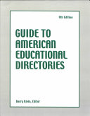 Guide to American Directories Book