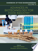 Advances in Biotechnology for Food Industry Book