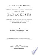 The Life and the Doctrines of Philippus Theophrastus