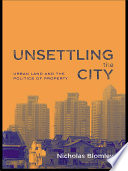 Unsettling the City