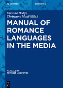 Pdf Manual of Romance Languages in the Media Telecharger