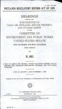 Wetlands Regulatory Reform Act of 1995