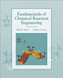 Fundamentals Of Chemical Reaction Engineering Book PDF