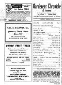 Gardeners  Chronicle of America Book