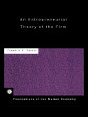 An Entrepreneurial Theory of the Firm Pdf/ePub eBook