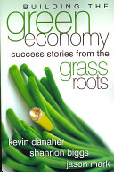 Building the Green Economy