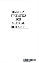 Practical statistics for medical research douglas g altman title page fandeluxe Image collections
