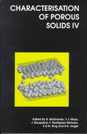 Characterisation of Porous Solids IV Book