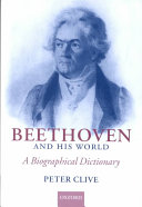 Beethoven and His World