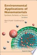 Environmental Applications of Nanomaterials Book