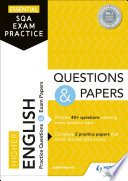 Essential SQA Exam Practice: Higher English Questions and Papers