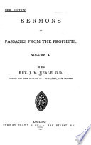 Sermons on Passages from the Prophets