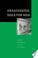 Unsaturated Soils for Asia