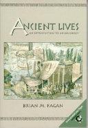 Ancient Lives Book
