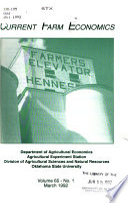 Current Farm Economics