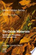 Tin Oxide Materials