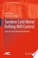 Tandem Cold Metal Rolling Mill Control Book PDF