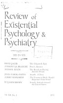 Review of Existential Psychology   Psychiatry Book PDF